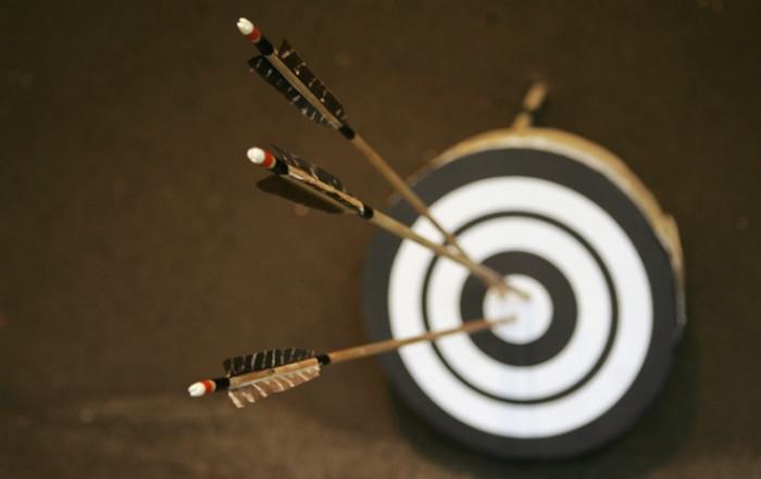 стрелы в мишени
