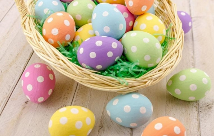 яйца в горох