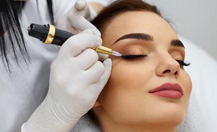 перманентный макияж на лице
