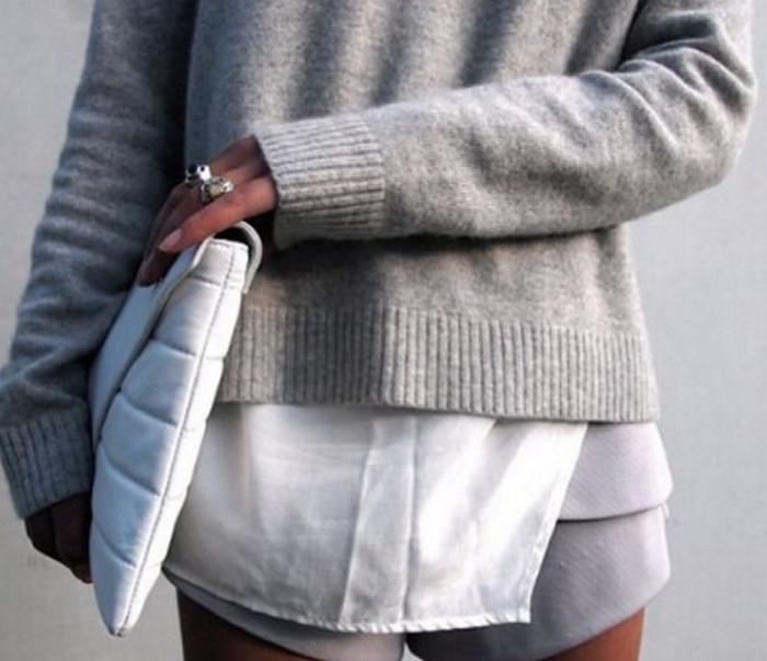 матовая фактура в одежде