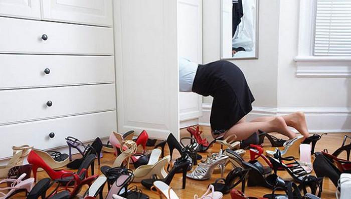 много туфель