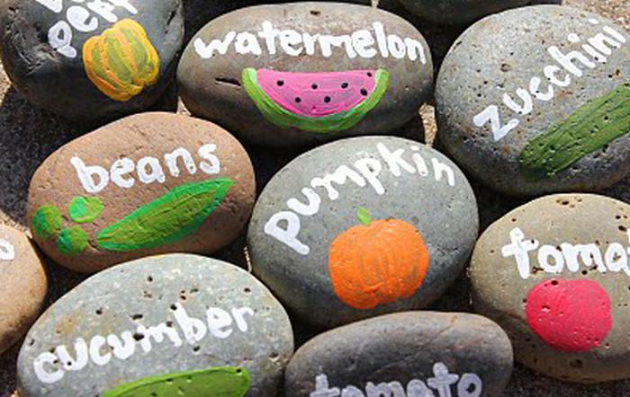 надписи на камнях