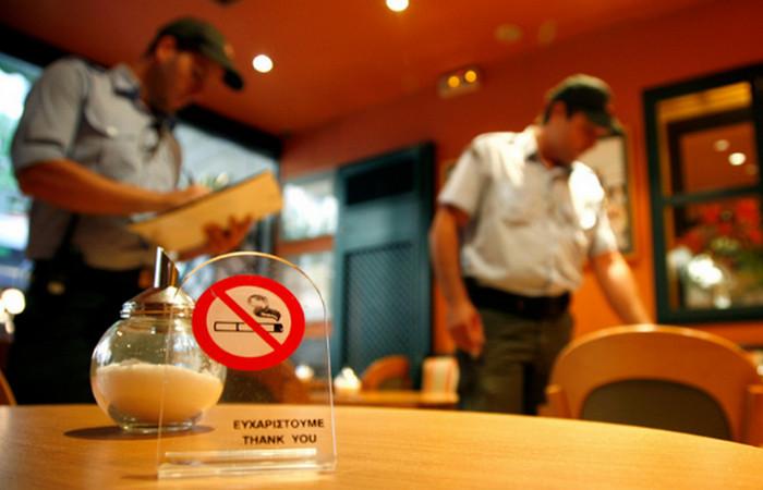 табличка о запрете курения