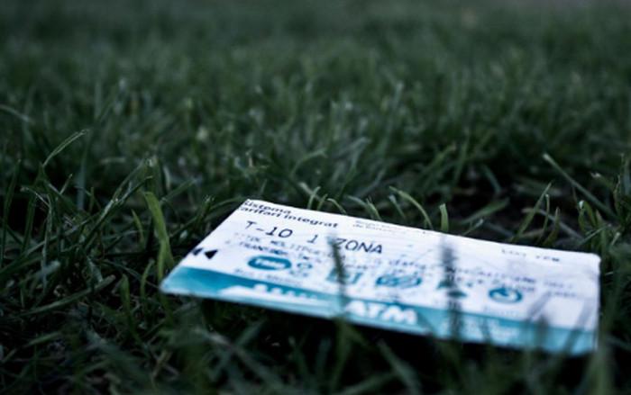 проездной T10 в траве