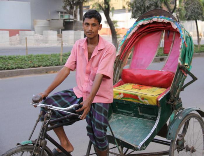 рикша индия