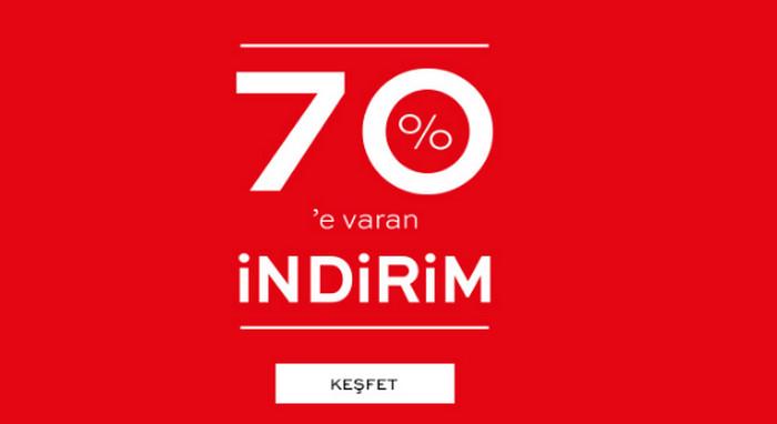 надпись indirim