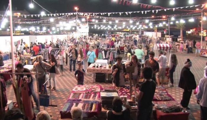 вечерний рынок в Турции