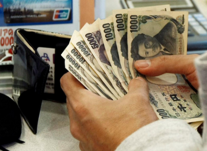 обмен валют в Японии