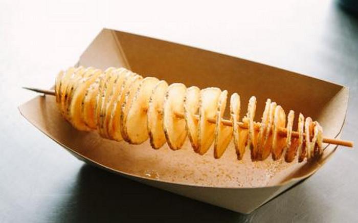 спиральная картошка
