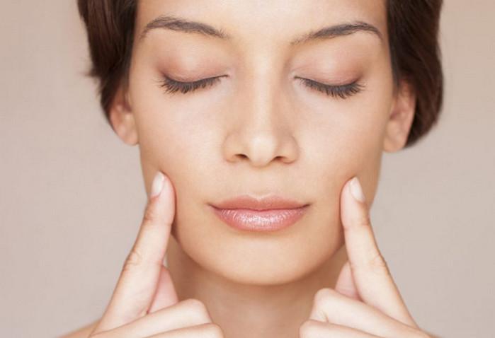 гладкая кожа на лице