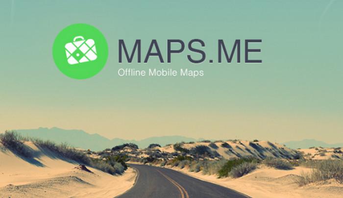 приложение maps me