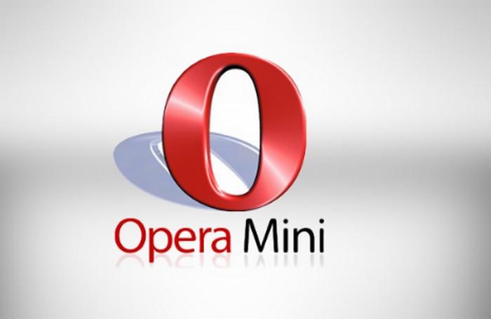 заставка опера мини