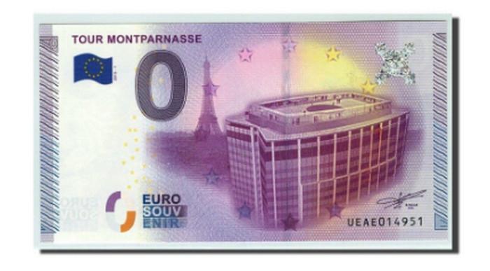 купюра 0 евро