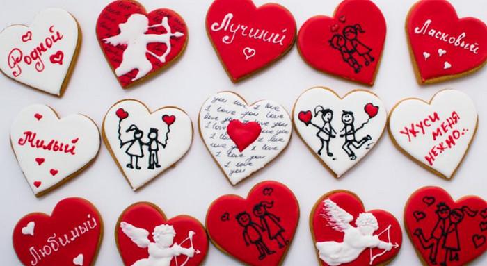 имбирные валентинки