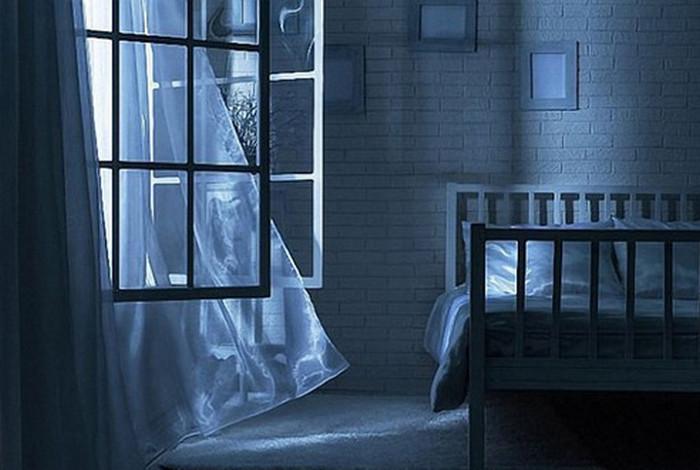 проветривается комната