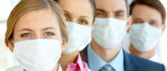люди в медицинских масках