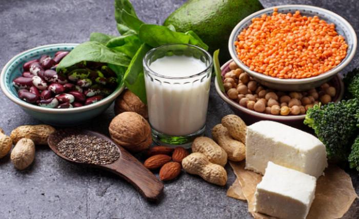 растительные продукты с белком