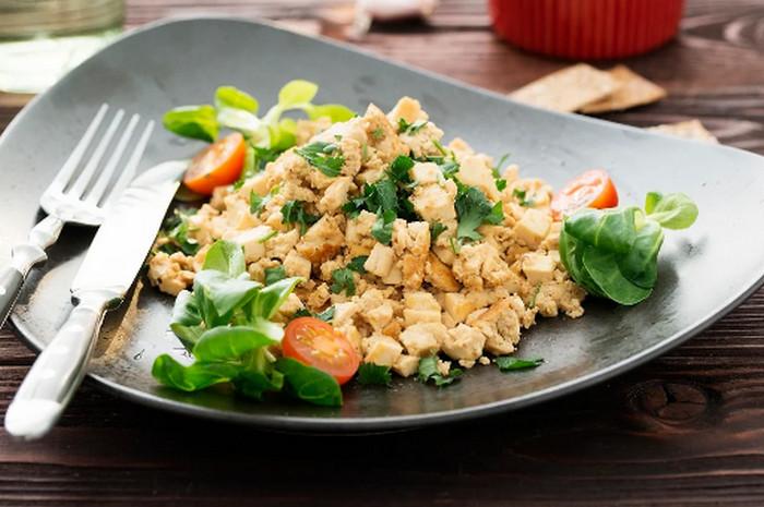 яичница из тофу
