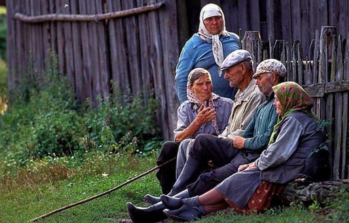 деревенские жители