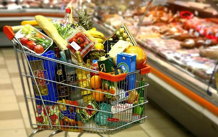 тележка с продуктами