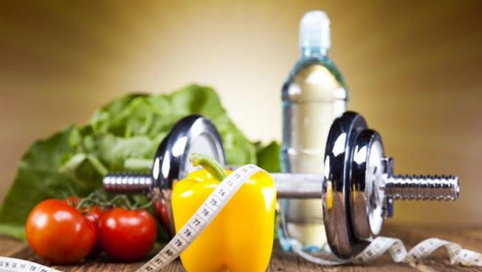 спортинвентарь и здоровые продукты