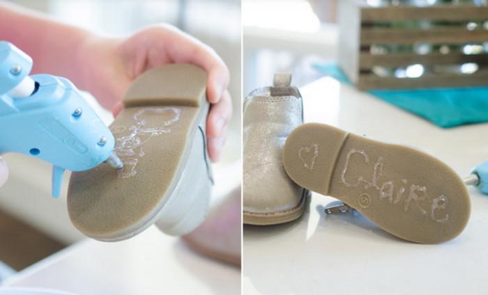клей на подошве обуви