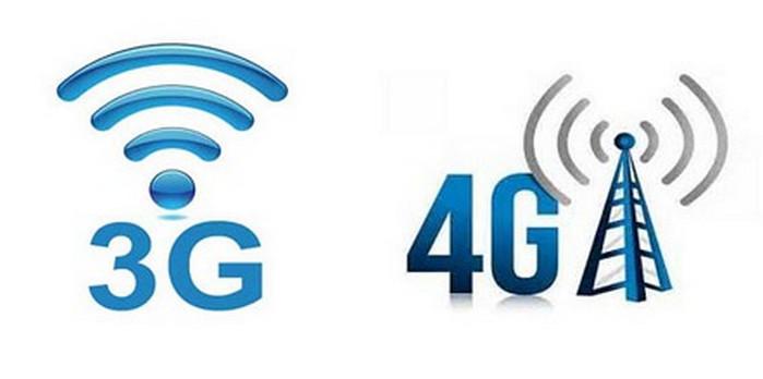 значки 3g и 4g