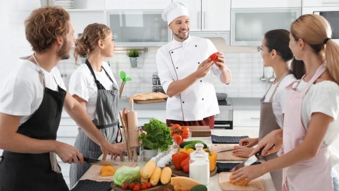мастер-класс по приготовлению еды