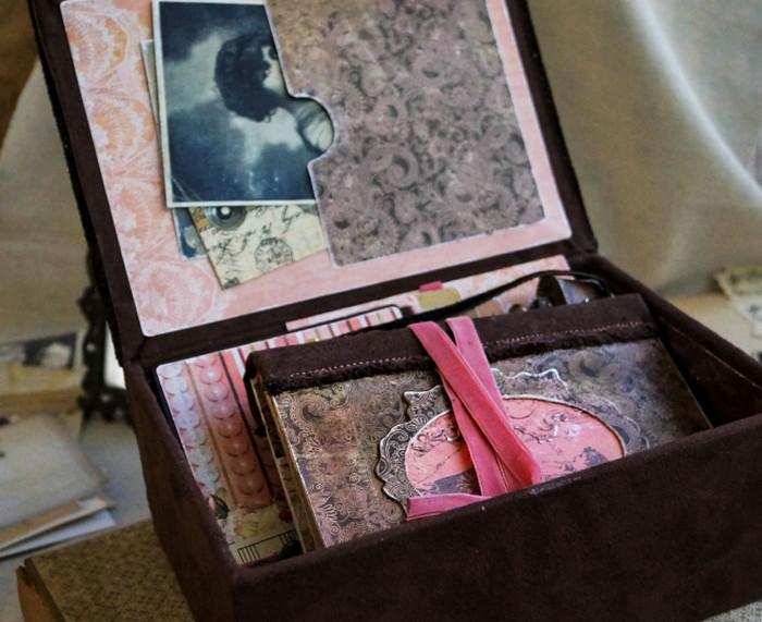 коробка с фотографиями